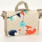 Preview: FUCHS & Co.: Kindergartenrucksack Tasche Name - sand