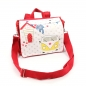 Preview: STRANDHAUS & Co.: Kindergartenrucksack Tasche Name - rot
